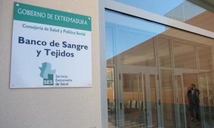 Las donaciones de sangre en Extremadura apenas descienden un 10 por ciento durante la crisis sanitaria