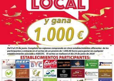 Más de 40 establecimientos participan en la campaña de fomento del consumo local de ASECOC