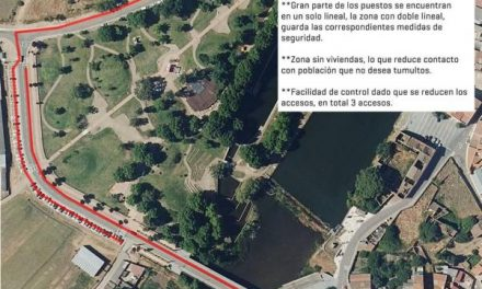 El Ayuntamiento de Moraleja divide el mercadillo semanal para garantizar la seguridad de sus vecinos
