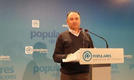 """El PP de Cáceres pide a Vara """"haga todo lo posible"""" para que la fábrica de baterías se quede en la provincia"""