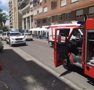 Fallece un hombre de 79 años en Badajoz tras intentar apagar un incendio en su vivienda