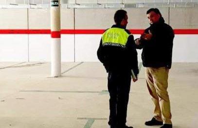 El Ayuntamiento de Coria habilita el párking del Doctor Viera para almacenaje de material sanitario