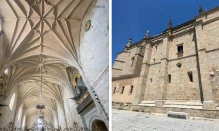 Coria recepciona las segunda fase de las obras de rehabilitación y consolidación de la Catedral