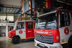 Catorce bomberos de un mismo turno en Badajoz están en  cuarentena tras dar positivo uno de los efectivos