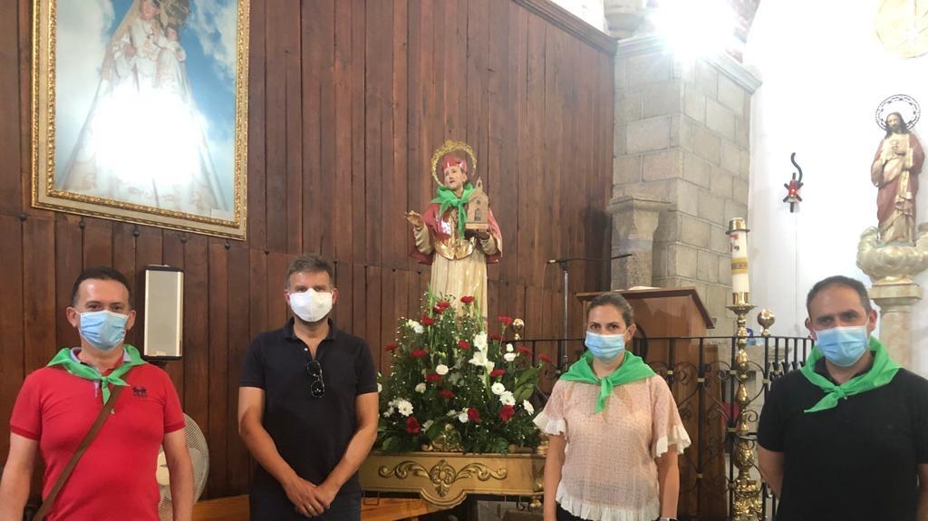 Moraleja rinde homenaje a San Buenaventura sin venerar al santo y con distancia social