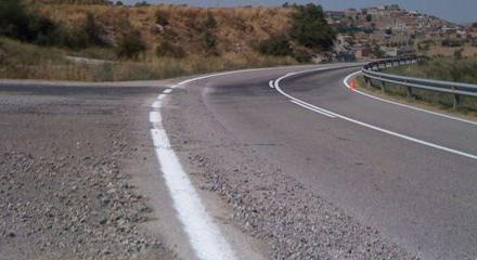 Herido con politraumatismos un joven en un accidente de tráfico en una pista de Losar de la Vera