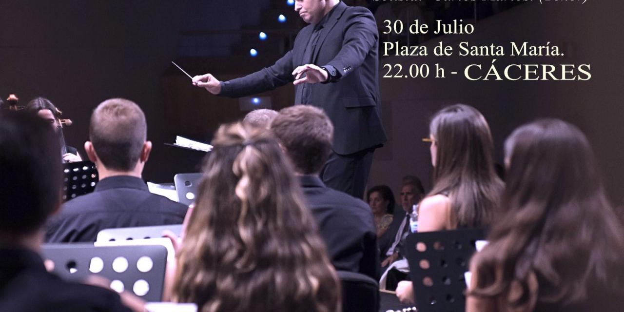 La Banda Sinfónica de Diputación ofrece un concierto este jueves en Cáceres