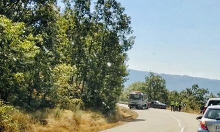 Trasladados al hospital de Coria dos ancianos tras una salida de vía en Villamiel