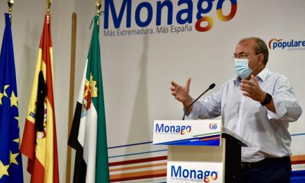 Monago lamenta el «silencio atronador» de Vara ante los recortes que sufre Extremadura
