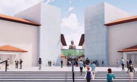 La estatua del Gran Buda que llegará en un mes a Cáceres será la más alta del mundo
