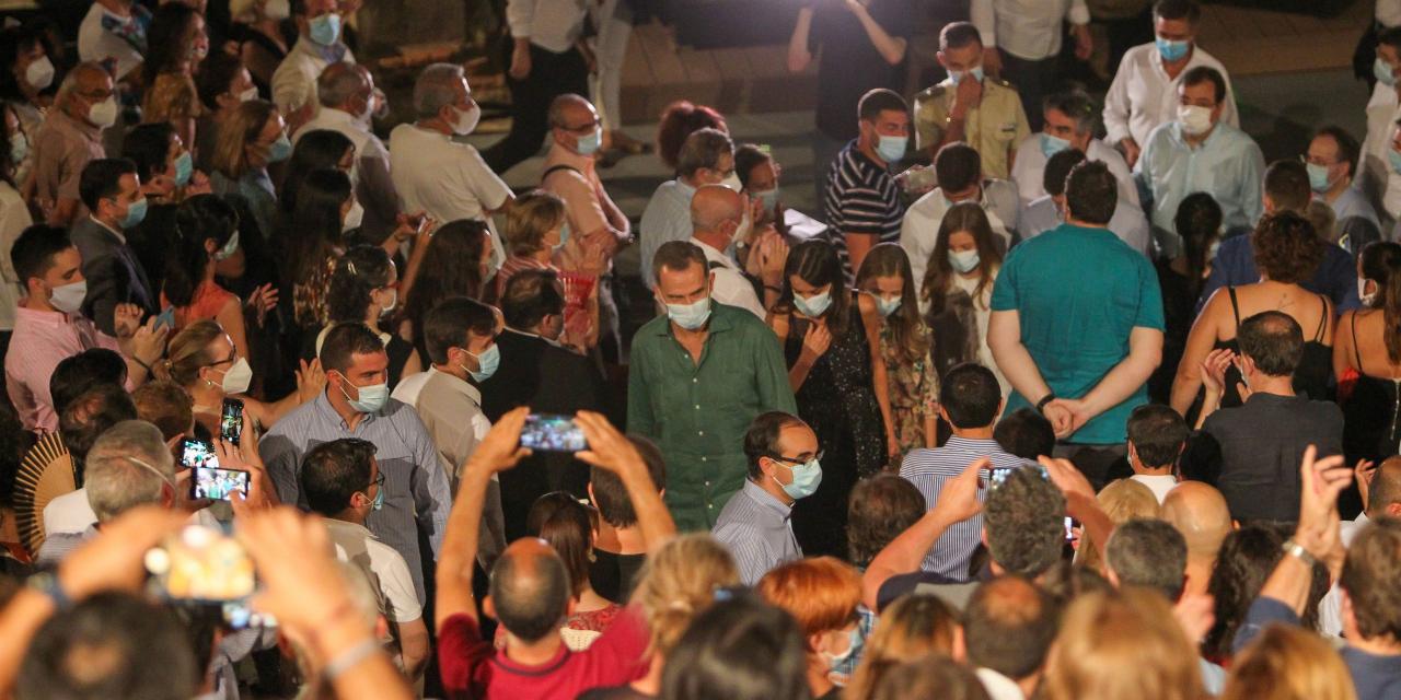 Sanidad obliga al Festival de Teatro Clásico de Mérida a reducir aforo tras las aglomeraciones en su estreno
