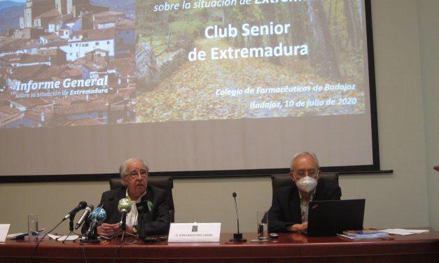 El Club Senior propone un plan estratégico de geriatría y otro de auditorías para las residencias