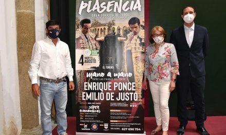 Emilio de Justo y Enrique Ponce protagonizarán en Plasencia la primera corrida de toros post-Covid de Extremadura