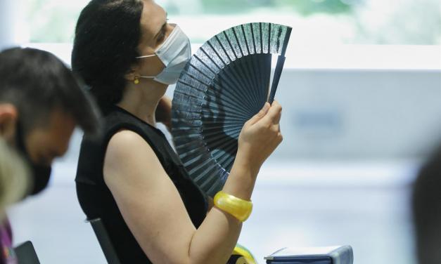 Los avisos por altas temperaturas permanecerán activos en Extremadura hasta el lunes