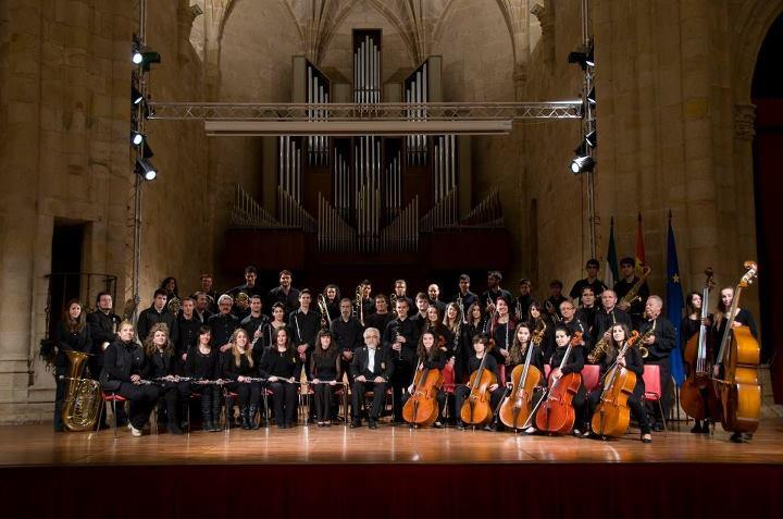 La banda sinfónica de la Diputación ofrecerá su primer concierto este jueves en Santa María