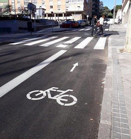 Las obras del carril bici del Parque del Príncipe en Cáceres salen a licitación