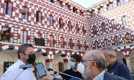 """La Junta califica la restauración de la fachada de las Casas Coloradas como un ejemplo de """"regeneración urbana"""""""