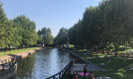 La piscina natural de Moraleja es la única apta para el baño en la comarca de Sierra de Gata este verano