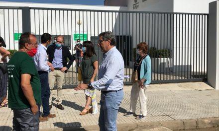 Un programa regional intenta mejorar la barriada de Suerte de Saavedra con una inversión de 185.000 euros