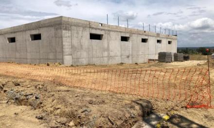 El consistorio estima que las obras del depósito de agua de Moraleja finalizarán en agosto