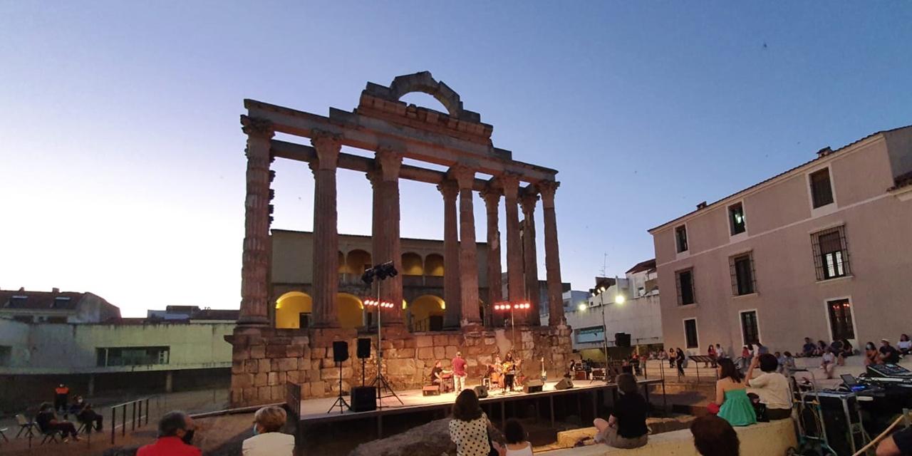 Las actividades del Templo de Diana registran 2.500 espectadores y generan 90 empleos directos