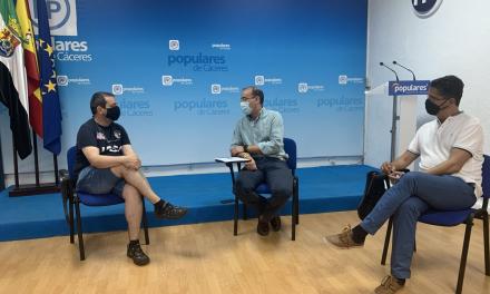 El PP lamenta el trato dado por la Junta a los familiares de fallecidos en la asistida de Cáceres