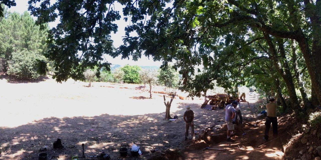 Técnicos del Museo Romano de Mérida participan en una nueva excavación en la ciudad romana de Ammaia