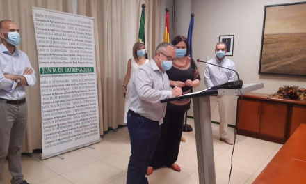 Serán necesarios 18 meses de obras para que Monterrubio tenga 1.200 hectáreas de regadío