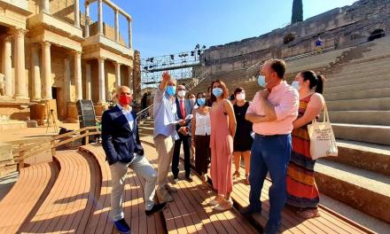 El Teatro Romano de Mérida consigue mejorar el tránsito durante los eventos con la remodelación del graderío