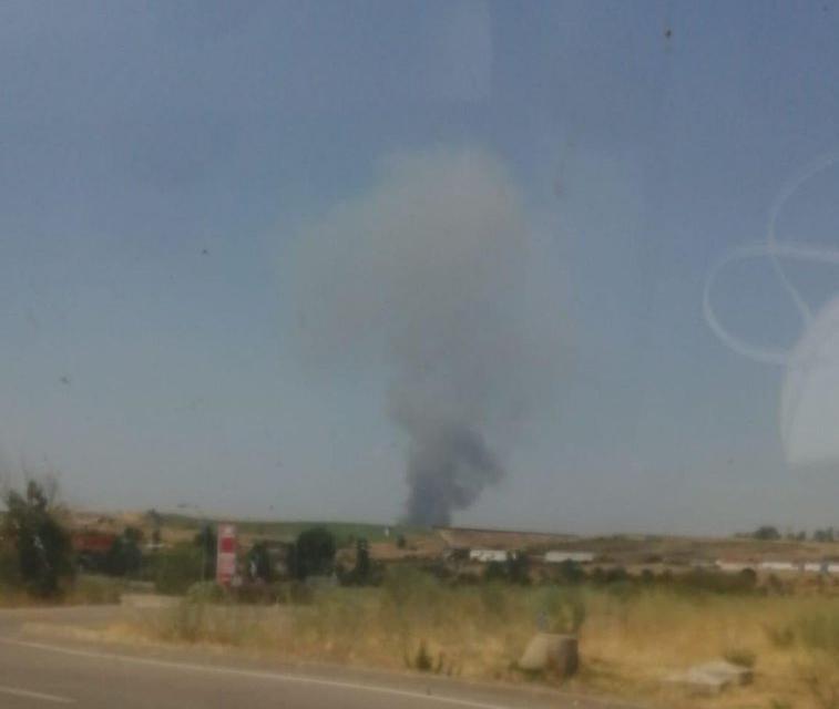El Plan Infoex moviliza sus efectivos y logra controlar un incendio en Galisteo