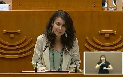 En la foto de archivo, Irene de Miguel.