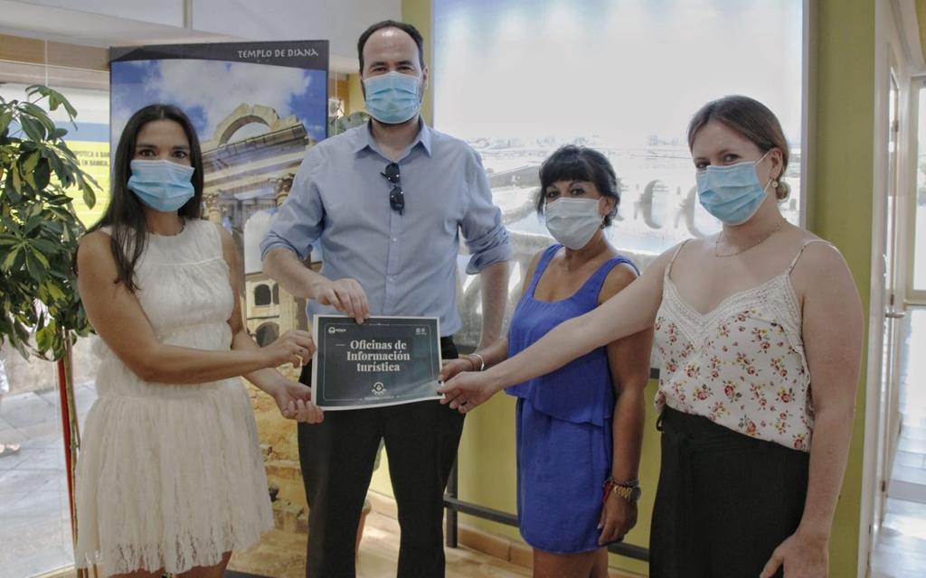 Mérida garantiza en las instalaciones de la delegación de Turismo el cumplimiento de las normas frente a la Covid