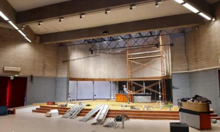 Olivenza mejora su casa de cultura para que puedan formar parte de la Red de Teatro de Extremadura