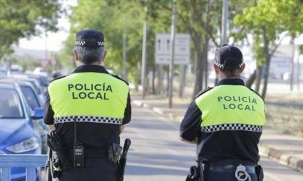 La Policía Local de Cáceres incauta casi un kilo de cannabis arrojado desde un coche