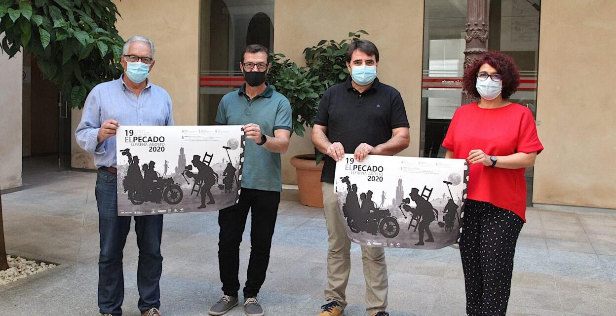 Llerena promociona en Badajoz el Certamen de Cortometrajes El Pecado que tendrá lugar del 4 al 8 de agosto