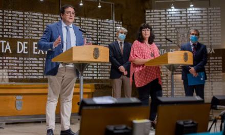 Vergeles asegura que la incidencia de la Covid en Extremadura es baja en comparación con el resto de España