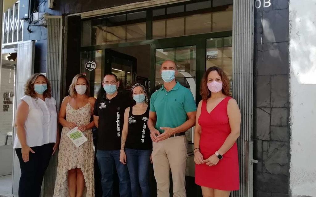 Zafra ya cuenta con un distintivo de seguridad sanitaria al que se adhieren once establecimientos