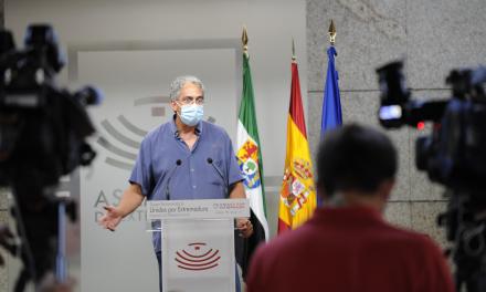 Unidas Por Extremadura exige que la comparecencia de Vara en la comisión de la Covid sea pública