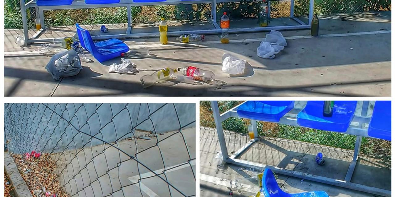 Torre de Don Miguel denuncia actos vandálicos de jóvenes que hacen botellón
