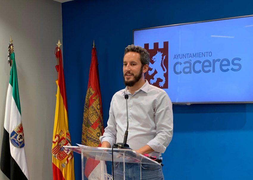 El pleno de Cáceres rechaza la moción presentada por el PP sobre el acuerdo del Gobierno y la FEMP