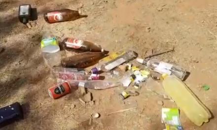 El alcalde de Cadalso denuncia el riesgo que supone hacer botellón en la piscina natural