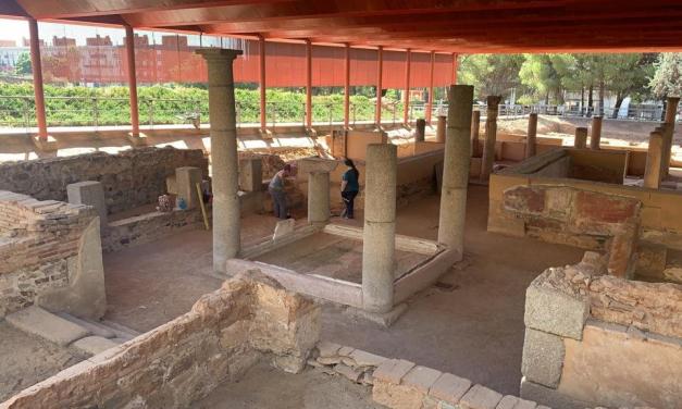 Las excavaciones en la casa romana del Mitreo buscan el hallazgo de construcciones anteriores