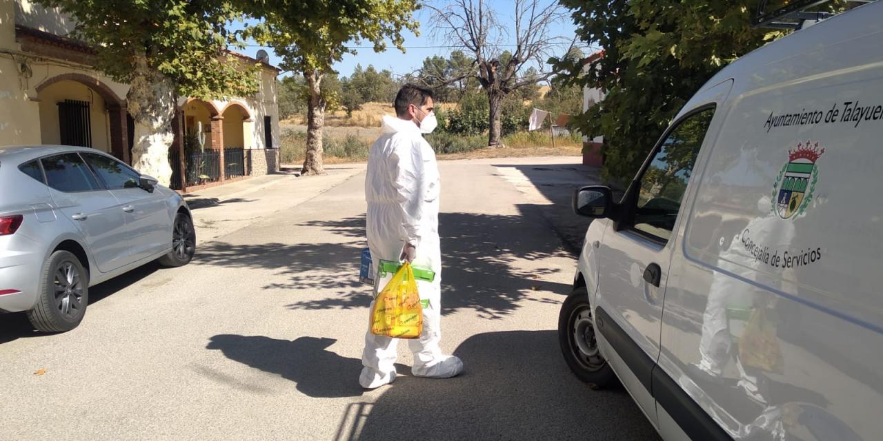 Toque de queda en Talayuela a las ocho de la tarde para desinfectar masivamente