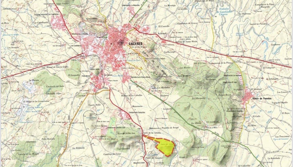 El centro budista de Cáceres se ubicará en el monte Arropez