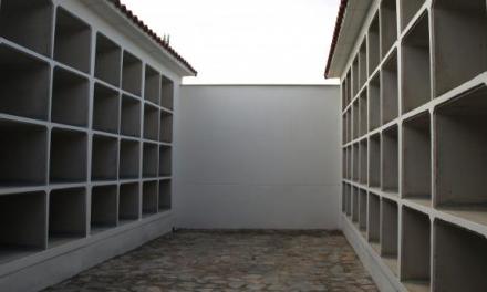 Finaliza la ampliación del cementerio de Cáceres con más de 200 nichos