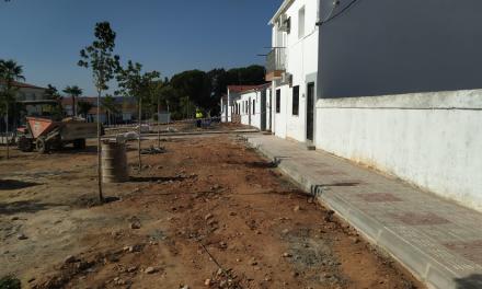 Coria realiza mejoras de pavimentación en ambas pedanías por más de 30.000 euros