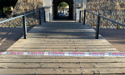 """El PSOE de Badajoz critica el cierre de Puerta Pilar ante el """"mal estado"""" del puente"""