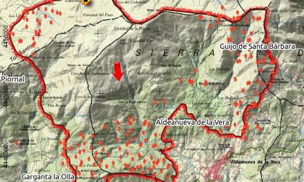 El incendio en la Sierra de Tormantos podría haber arrasado ya cerca de 4.000 hectáreas
