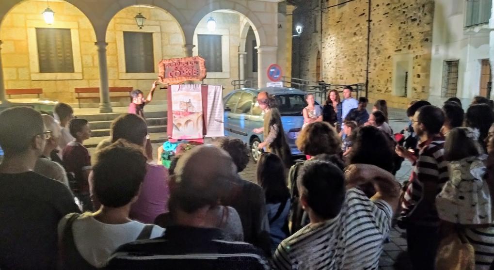 Visitas guiadas, teatro en la calle y cine al aire libre para amenizar el fin de semana en Coria