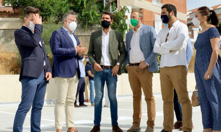 Plasencia ya cuenta con 305 nuevas plazas en el aparcamiento de la calle Velázquez